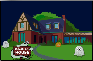 [haunted house]