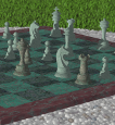 [raytraced image of a game of chess]